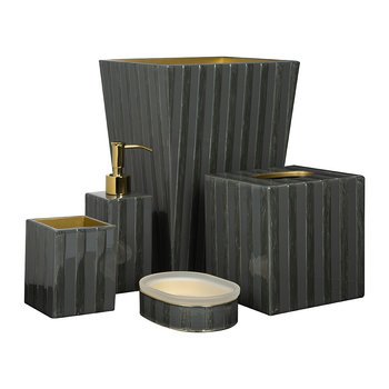 Havana Bathroom Accessory Set - Storm