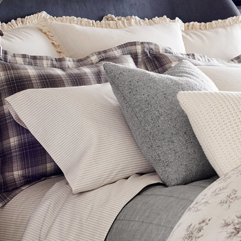 Jackson Bed Linen - Gray