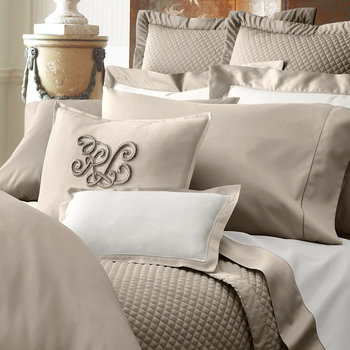 Langdon Cape Tan Bed Linen