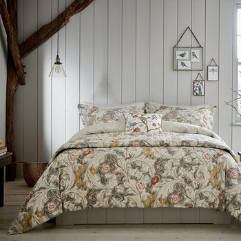 Leicester Gray Bed Linen