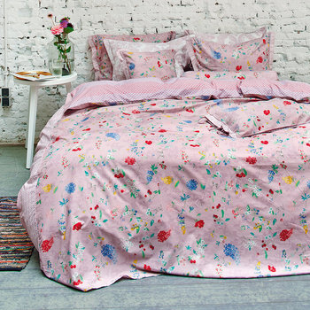 Lilac Hummingbirds Bed Linen