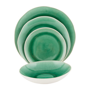 Maguelone Green Emerald Tableware