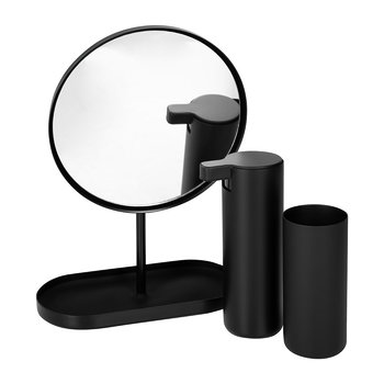 Modo Black Bathroom Accessory Set