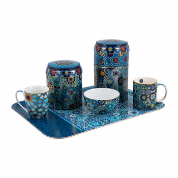Moucharabieh Blue Tableware