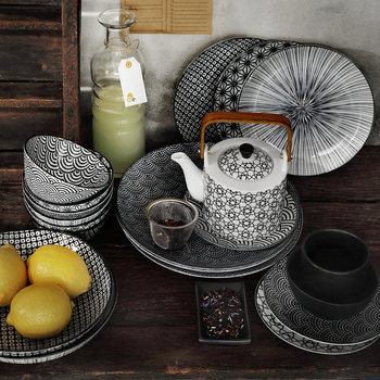 Nippon Black Tableware