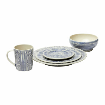Nolan Tableware - Navy/Cream