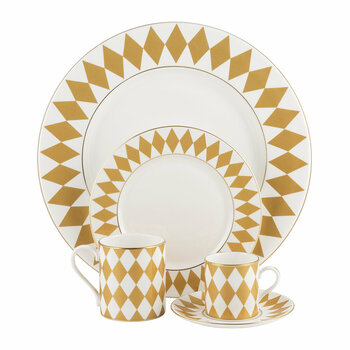 Parterre Tableware - Gold
