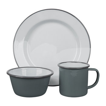 Pigeon Gray Tableware Collection