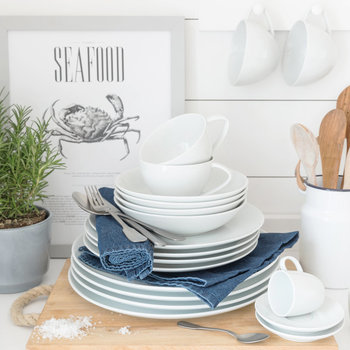 Port Cros White Tableware