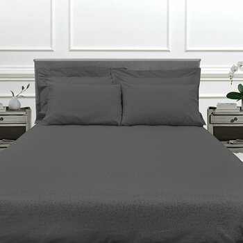 Princess Grace Bed Linen Collection - Charcoal