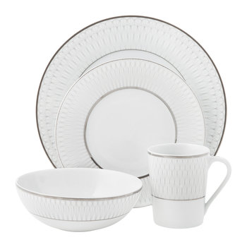 Prism Platinum Tableware
