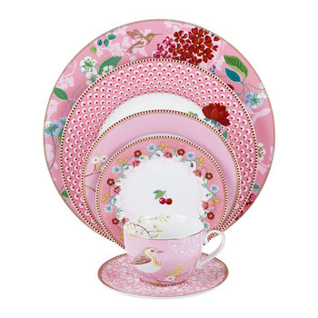 Floral 2.0 Tableware Collection - Pink
