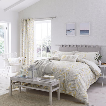 Sea Kelp Ochre Bed Linen