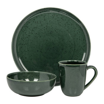 Seasons Speckled Tableware - Green