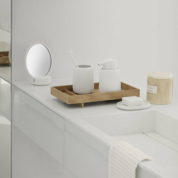 Sono Bathroom Set - White