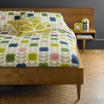 Summer Flower Stem Bed Linen