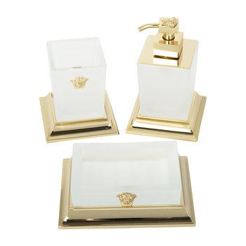 Superbe Bathroom Accessory Set - Gold