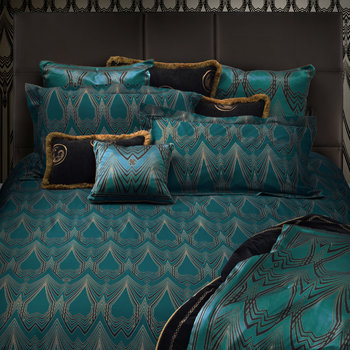 Teal Deco Bed Linen