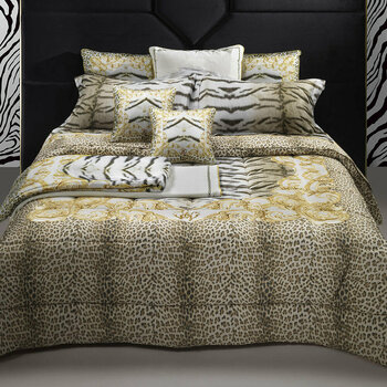 Tiger Frame  Gold Bed Linen