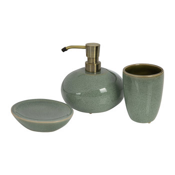 Ugo Bathroom Accessory Set – Forest