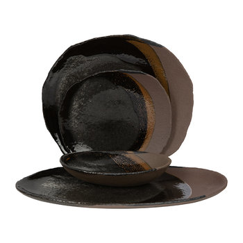Wabi Dark Brown Tableware