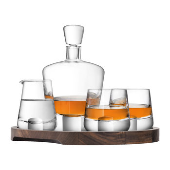 Whisky Cut Glassware