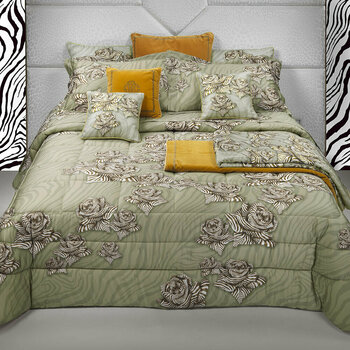 Zebra Rose Sand Bed Linen