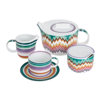 Zig Zag Tea & Coffee Set