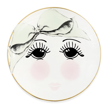 Miss Étoile - Open Eyes Round Plate