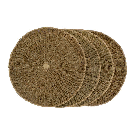 Garden Trading - Round Seagrass Placemat - Set of 4