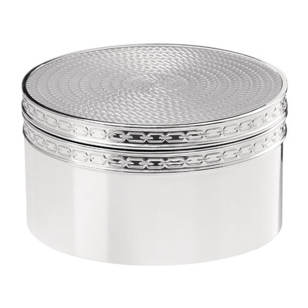 Vera Wang for Wedgwood - With Love Silver Treasure Box