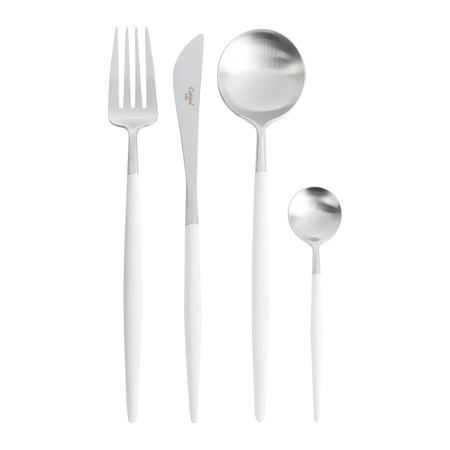 Cutipol - Goa Flatware Set - 24 Piece - White