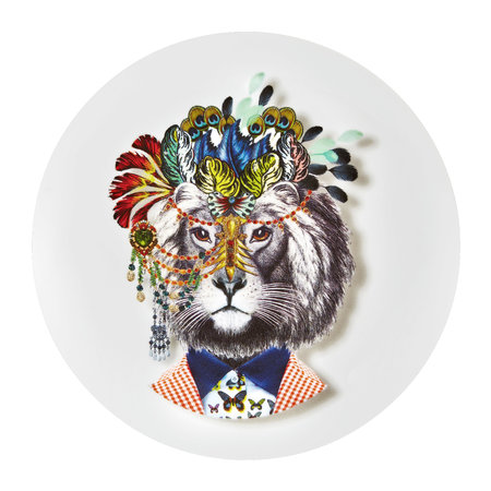 Christian Lacroix - Love Who You Want - 'IndiLion' Plate