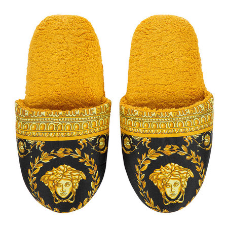 Versace Home - Chaussons Barocco&Robe - Or/Noir