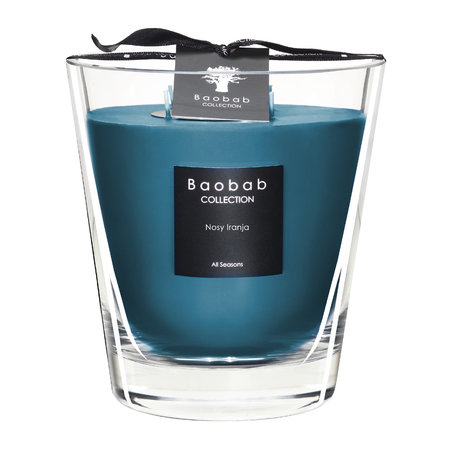 Baobab Collection - All Seasons Scented Candle - Nosy Iranja - 16cm