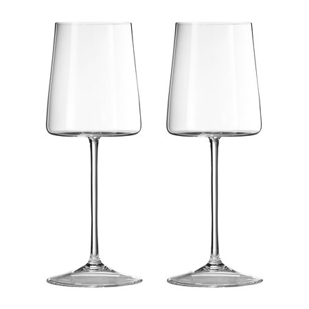 Buy vera wang for wedgwood metropolitan wine glasses set for Thin stem wine glasses