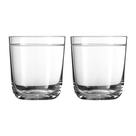 Vera Wang for Wedgwood - Bande Glass Tumblers - Set of 2