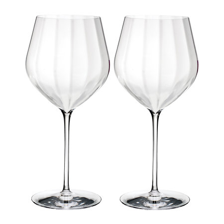 Waterford - Optic 'Big Red' Wine Glasses - Set of 2