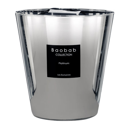 Baobab Collection - Platinum Scented Candle - 16cm