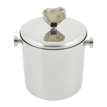 Luxe - Natural Agate Ice Bucket