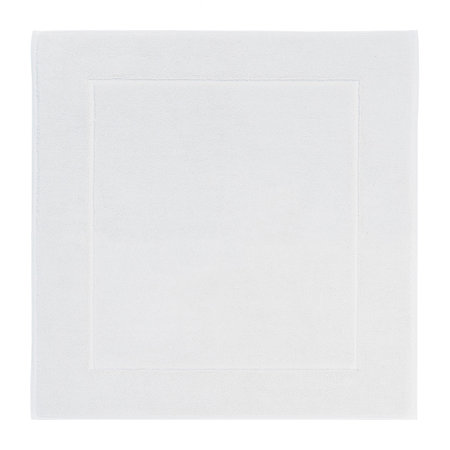 Aquanova - London Square Bath Mat - 60x60cm - White