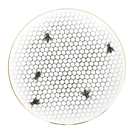 Rory Dobner - Perfect Plates - Bees All Over - Large