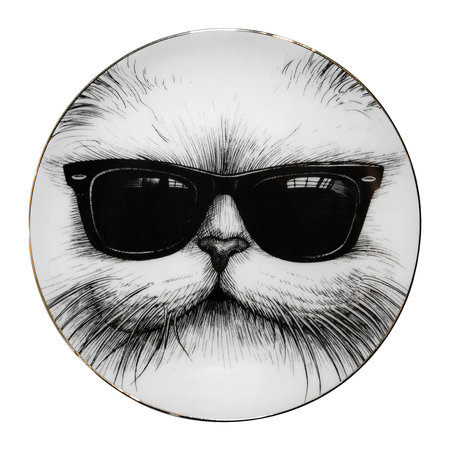 Rory Dobner - Perfect Plates - Cool Cat - Small
