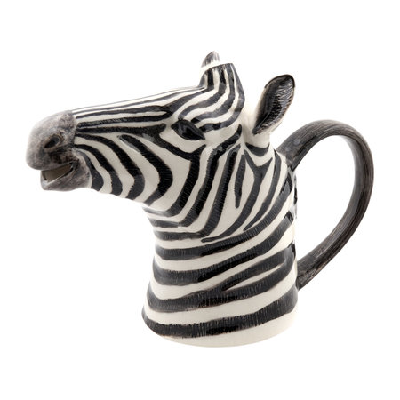 Quail Ceramics - Ceramic Zebra Pitcher - Small