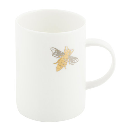 casacarta - Bee Mug - Fine Bone China - White