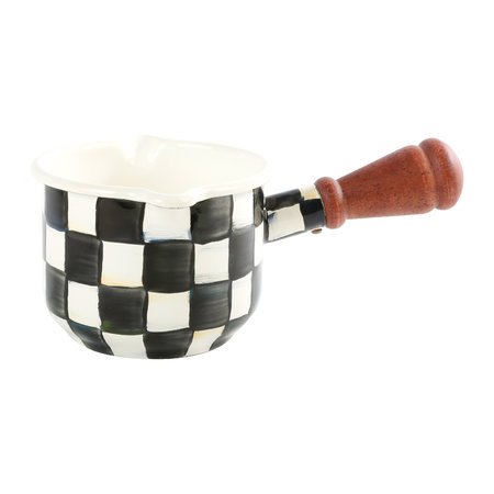 MacKenzie-Childs - Courtly Check Enamel Butter Warmer