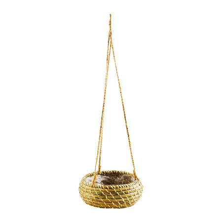 Iron & Clay - Hanging Seagrass Planter - Set of 2