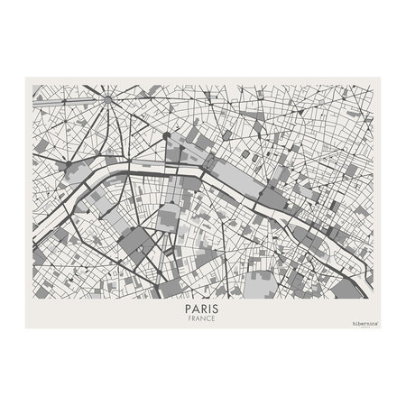 BEAUMONT - Week-end Vinyl Placemat - Paris