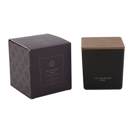 Locherber - Azad Kashmere Scented Candle & Canaletto Walnut Lid - 210g