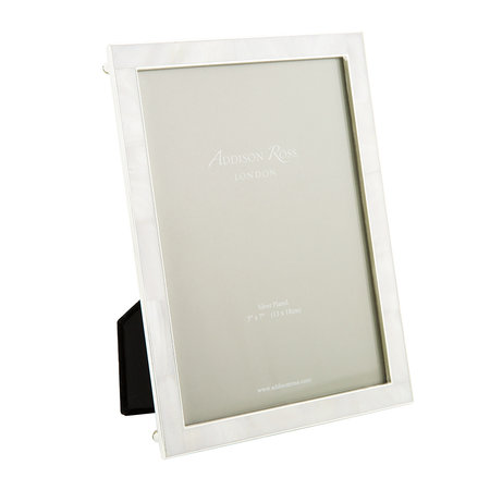 """Addison Ross - Cream Mother of Pearl & Silver Photo Frame - 5x7"""""""